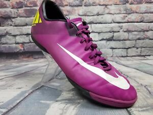 meilleur service 9efea 4206b Details about Nike Mercurial Victory IV IC Indoor Soccer SHOES 2013  Purple/Pink/ neon sz 10.5