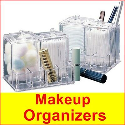 Cosmetics Organizer Makeup Lipstick Holder Acrylic Case Box Display Crystal new