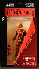 """2014 DC DIRECT CRIME SYNDICATE SUPER-VILLAINS JOHNNY QUICK 6"""" ACTION FIGURE MOC"""