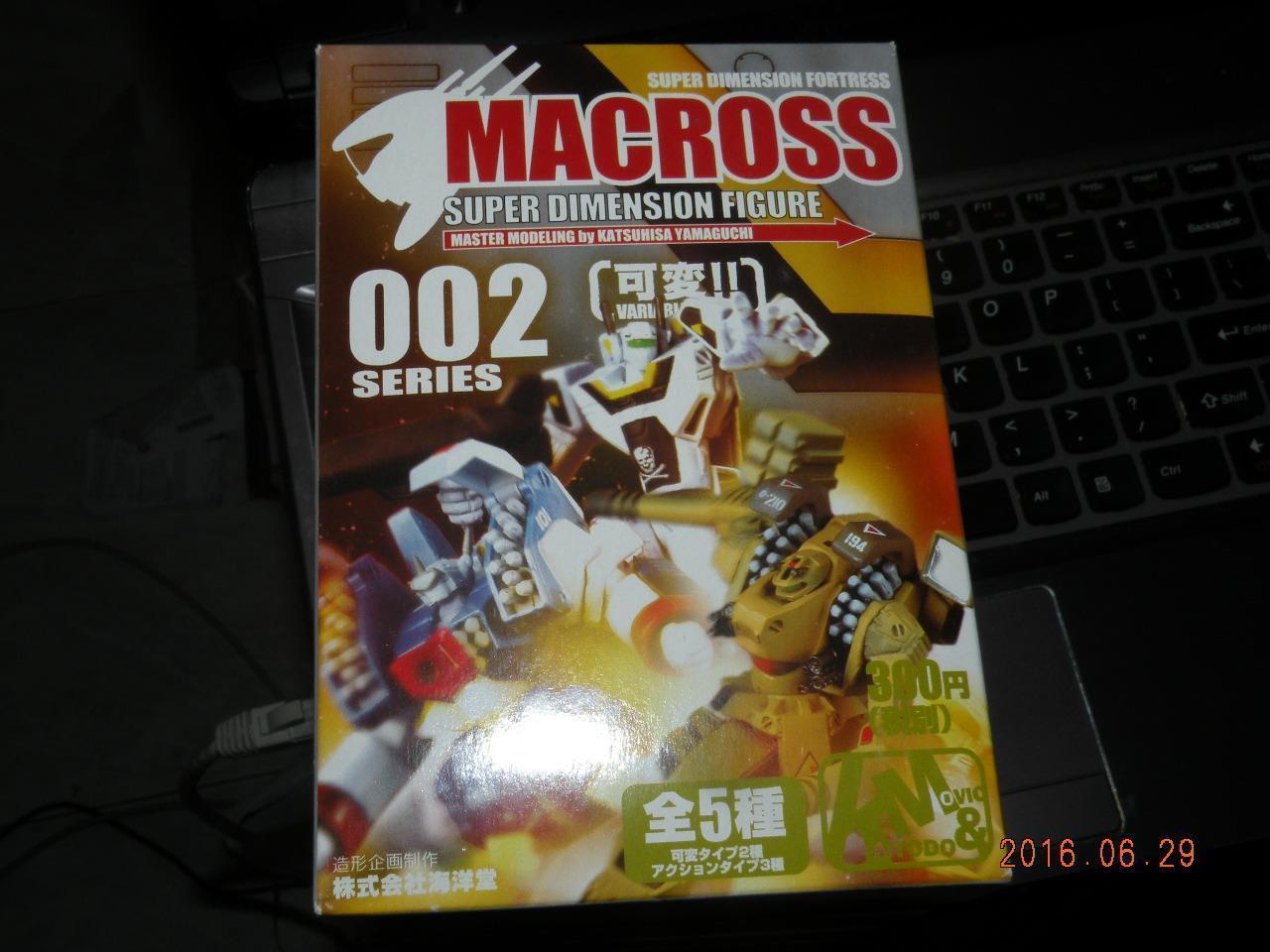 KAIYODO MACROSS ROBOTECH Super Dimension SERIES 2  FULL SET 5 PCS MINI FIGURE