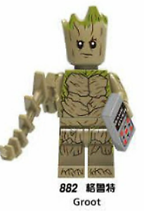 Marvel Minifigure US FREE TRACKED SHIPPING Avengers Teen Groot W// Game