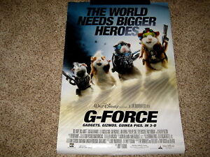 G Force Original Movie Poster 27 X 40 Double Sided Rolled Walt Disney Ebay