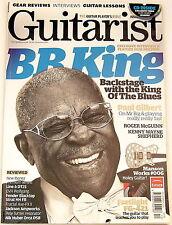 GUITARIST MAGAZINE December 2011 BB King Paul Gilbert Manson Ibanez EVH Fender
