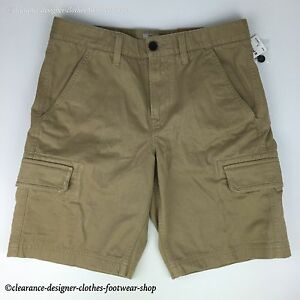 Details about TIMBERLAND SHORTS MENS WEBSTER LAKE TWILL CARGO CLASSIC FIT BEIGE SHORTS RRP £70