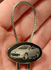 Peugeot 307 CC Schlüsselanhänger 307CC Cabrio Gravur