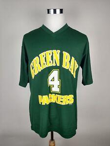 Mens Brett Favre Green Bay Packers Jersey Shirt Size Large Adult  for cheap