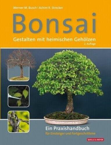 Bonsai - Gestalten mit heimischen Gehölzen Werner M. Busch; Achim R. Strecker