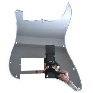 Electric-Guitar-Pickguard-For-Fender-Parts-Plate-11-Hole-One-Humbucker-Mirror