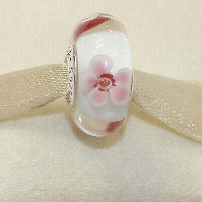 pandora murano cherry blossom charm