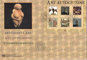 Nazioni UNITE 2004 Indigeni Arte O/S Primo giorno di copertura di Ginevra SHS
