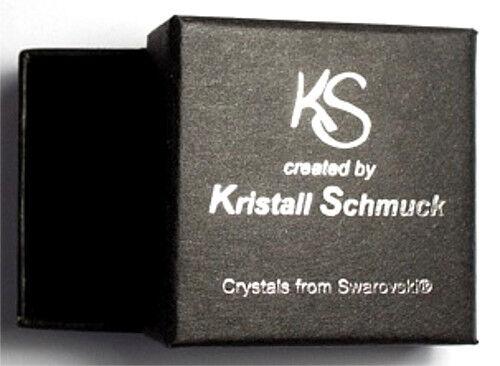 Silber Schneeflocke Geschenk Silber 925 Hals-Kette mit Swarovski® Eis-Kristall