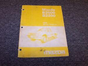 1988 Mazda B2600 B2200 Pickup Truck Original Electrical ...