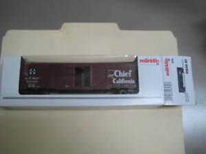 Marklin H0 45644-01 Atsf Super Chief Étain Plaque Boite Voiture -