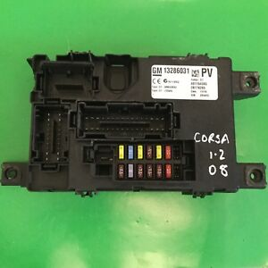 image is loading 2008-vauxhall-corsa-d-1-2-body-control-