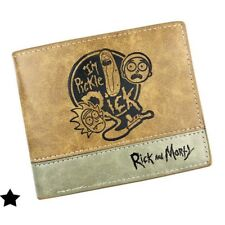 item 3 Rick and Morty Pickle Rick Bifold Wallet Brown Cards Notes -Rick and  Morty Pickle Rick Bifold Wallet Brown Cards Notes b40bb37f8d9fc