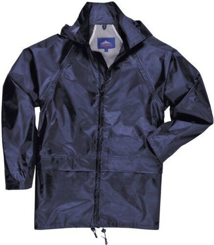 Waterproof Rain Jacket mens//womens lightweight over coat Portwest S-4XL  S440