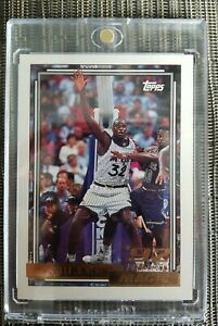 1992 Topps Gold Shaquille O'Neal ROOKIE RC #362 Magic PSA Grade Opp CENTERED 🔥