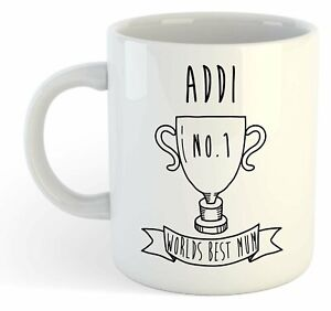 Addi - Monde Meilleure Maman Trophy Tasse - Pour Cadeau De Fête Des Mères , Ehbi1jtt-07234221-986131066