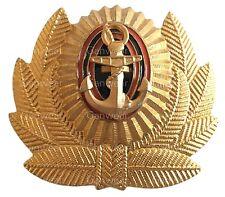 Russian Federation Army Navy Fleet Military ANCHOR Hat Cap Beret Metal Pin Badge