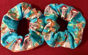 Hair-Scrunchies-Australian-Christmas-Possums-Handmade