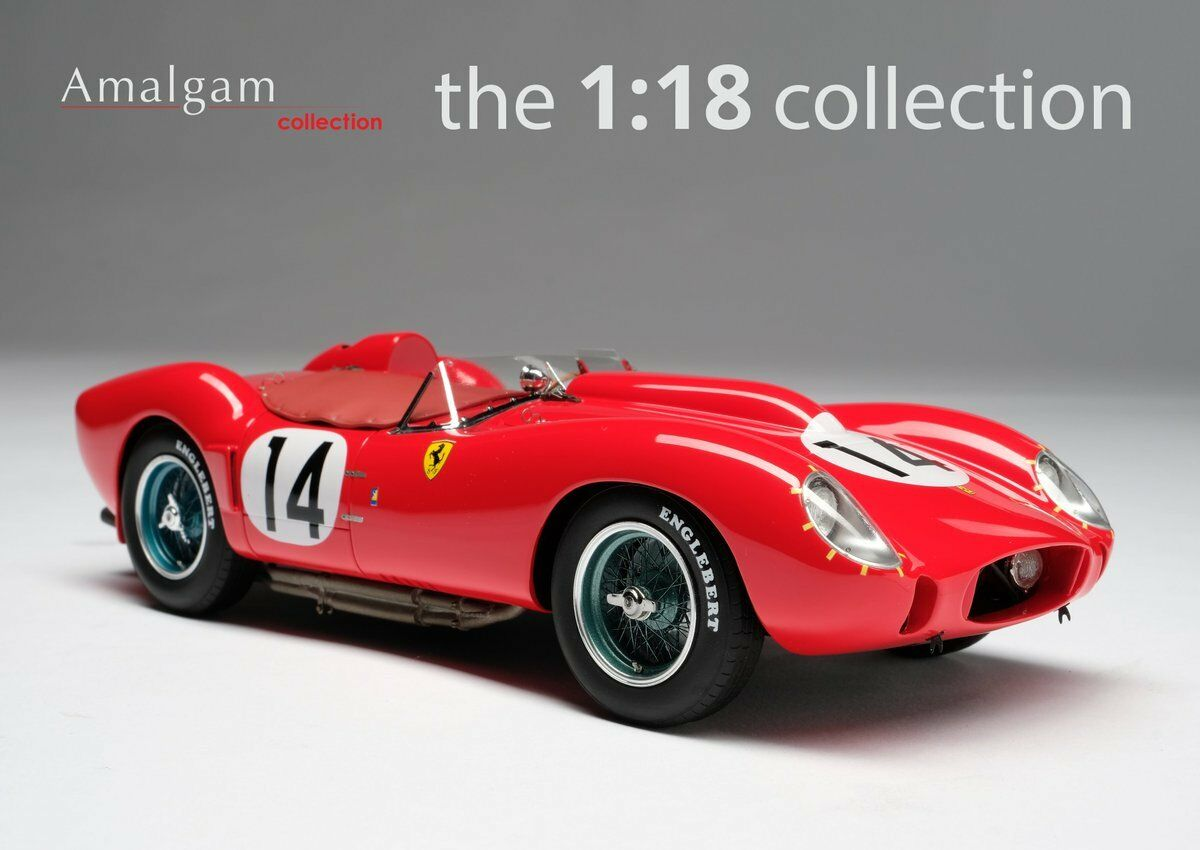 AMALGAM FERRARI 250 TR 58  4 vainqueur Le Mans 1958 échelle 1 18