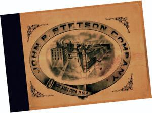 88eb7948466 John B. Stetson Company 1900 Trade Samples CATALOG Bowler Cowboy ...