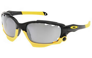 Oakley Racing Jacket Sunglasses - Polished Black   Louisiana Bucket ... b275e656fb