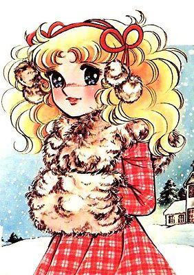 POSTER CANDY CANDY KYANDI KYANDI SHOJO MANGA ANIME ARTBOOK ANDREW ANNIE #21