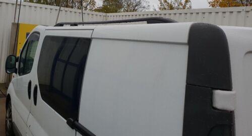 VAUXHALL VIVARO 2001-2014 ALUMINIUM ROOF RAIL BARS RACKS BLACK COLOUR LWB NEW
