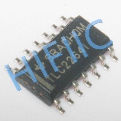 5PCS TLC2264C Encapsulation:SOP-14,Advanced LinCMOS RAIL-TO-RAIL OPERATIONAL