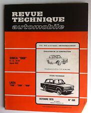 RTA  du 9/1972; Citroën SM/ Evolution 304 - 304 S/ Outils spéciaux SM