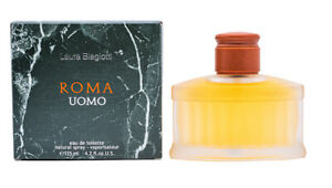 Roma-Uomo-by-Laura-Biagiotti-4-2-oz-EDT-Cologne-for-Men-New-In-Box