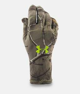 UNDER ARMOUR HUNTING GLOVES UA Scent Control Armour® Fleece Hunting Gloves Large