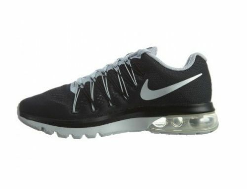 74977e6647c9 Nike Air Max Excellerate 5 Mens 852692-001 Black Silver Running Shoes Size  7.5 for sale online
