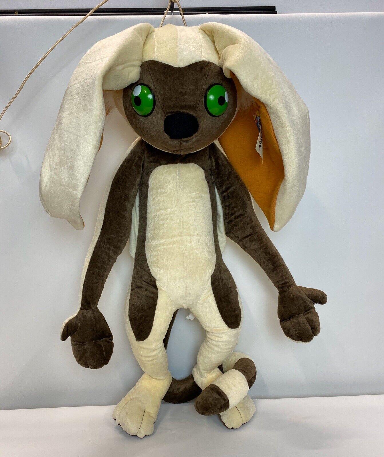 MOMO Avatar The Last Airbender Stuffed Animal 4-Foot RARE  2005 Preowned