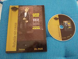 REBELDE Senza Causa DVD +Libro Edizione Speciale James Dean Castellano English