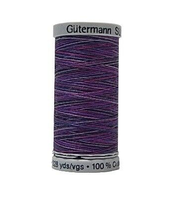 1.70 EUR//100 Meter Gütermann Multicolor Quiltgarn Cotton 30 Farbe 4033