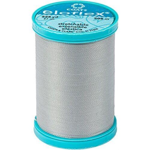 225 ydnugrey Manteaux eloflex Stretch Thread 225 Yd environ 205.74 m - Nugrey