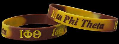 Iota Phi Theta Silicone Bracelets Set of 2 Tie Dye BRAND NEW!!!