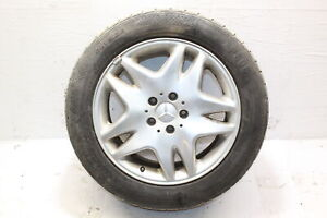 2000 MERCEDES CL500 W215 ALLOY WHEEL WITH TYRE 215 / 55 R17 2.5MM