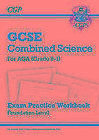 New Grade 9-1 GCSE Combined Science: AQA Exam Practice Workbook - Foundation von CGP Books (2016, Taschenbuch)