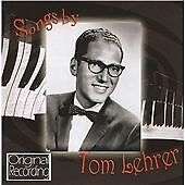1 of 1 - Songs By Tom Lehrer [Transfer from Vinyl], Tom Lehrer, Very Good