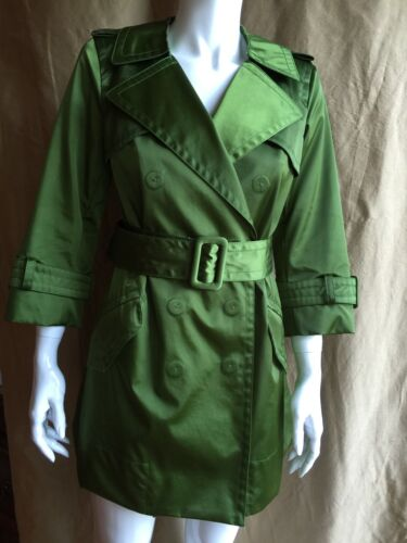 Marc Trench Coat Runway Size Green Jacobs 6 Jacket Fvxq7Frw