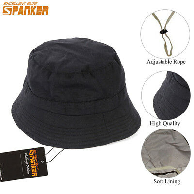 Bucket Hat Fishing Brim Boonie Visor Unisex Sun Hunting Summer Camping Cap Dote