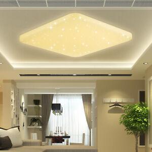 Details zu 50W LED Deckenleuchte Wohnzimmer Deckenlampe Badlampe LED Panel  Warmweiß