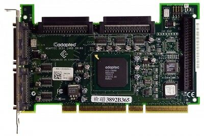 Adaptec Asc-39160/dell Scsi Pci-x [9482]-