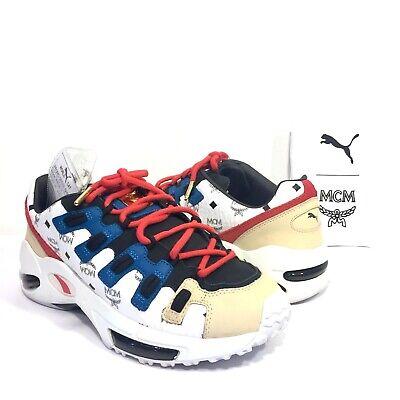 huge discount 48b7d bd2c9 MCM x PUMA Mens Cell Endura Logo Glacier Gray Pre Production Sample  Sneakers 9.5 | eBay