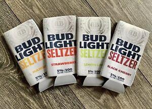 Bud Light Lime /& Orange Beer Can Koozie set of 2 NEW unused beach tropical