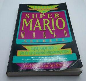 Super Mario World secretos-prima-Guía De Estrategia-Super Nintendo-en muy buena condición