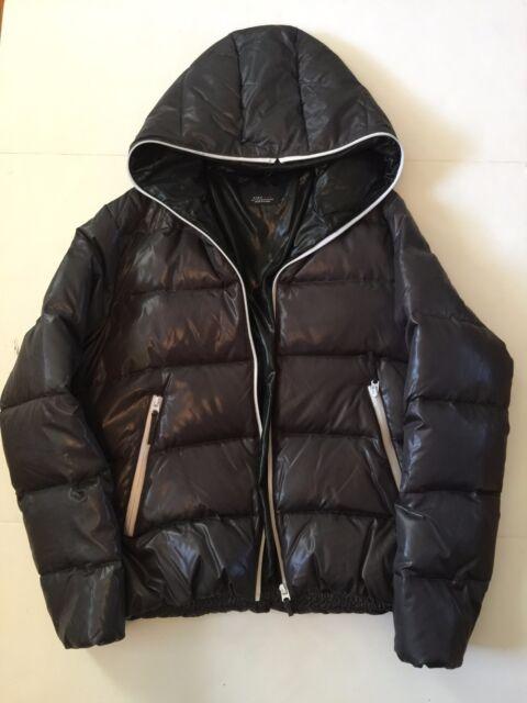 edd7f6c4 ZARA Man Dark Grey Hood Puffer Jacket Coat Parka (Size XXL, 44)   eBay